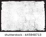vector grunge texture.distress... | Shutterstock .eps vector #645848713