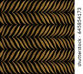 abstract hand drawn pattern.... | Shutterstock .eps vector #645854173