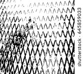 illustration with grunge metal... | Shutterstock .eps vector #645859033