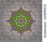 background texture  wallpaper ... | Shutterstock .eps vector #645898213