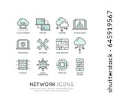 vector icon style illustration... | Shutterstock .eps vector #645919567