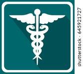 medicine icon | Shutterstock .eps vector #645921727