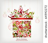 christmas background | Shutterstock .eps vector #64592272