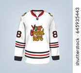 vector illustration of hockey...   Shutterstock .eps vector #645935443