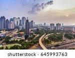 jakarta officially the special... | Shutterstock . vector #645993763