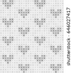 gray and white abstract pattern ... | Shutterstock .eps vector #646027417