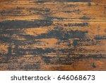 close up wooden background... | Shutterstock . vector #646068673
