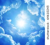 Stock photo the divine sky 64610245