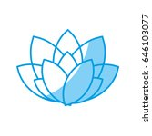beautiful flower design   Shutterstock .eps vector #646103077