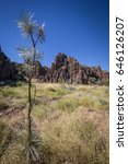 Small photo of Mimbi Caves near Fitzroy Crossing. Fascinating landscapes and traditions at the southern end of the ancient Devonian reef system in the Napier Range, Kimberley, Western Australia.