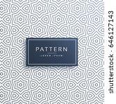 line pattern background design... | Shutterstock .eps vector #646127143