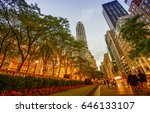 new york   may 17  tourists... | Shutterstock . vector #646133107