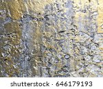 abstract gold color painted on... | Shutterstock . vector #646179193