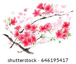 chinese traditional... | Shutterstock . vector #646195417