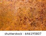 rust on steel   Shutterstock . vector #646195807
