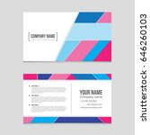 abstract vector layout... | Shutterstock .eps vector #646260103