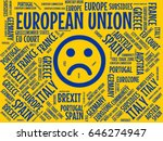 european union   image with... | Shutterstock . vector #646274947