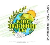 illustration of world... | Shutterstock .eps vector #646279297