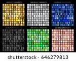 super megaset of colorful... | Shutterstock .eps vector #646279813