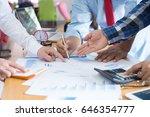 business concept. business... | Shutterstock . vector #646354777