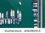 pier speedboat. a marina lot....