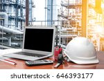 engineering industry concept in ... | Shutterstock . vector #646393177