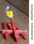 recycling toys handmade toy... | Shutterstock . vector #646394143