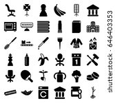 nobody icons set. set of 36... | Shutterstock .eps vector #646403353