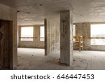 reinforced concrete beams ... | Shutterstock . vector #646447453