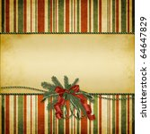 christmas greeting card | Shutterstock . vector #64647829