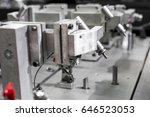 gauge and dimensional checking... | Shutterstock . vector #646523053
