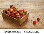 strawberry | Shutterstock . vector #646528687