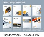 abstract vector business... | Shutterstock .eps vector #646531447