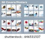 abstract vector business... | Shutterstock .eps vector #646531537