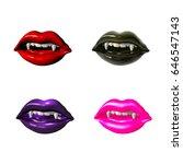 3d monster. 3d illustration | Shutterstock . vector #646547143