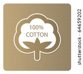 cotton labels | Shutterstock .eps vector #64659202