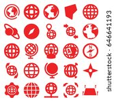 geography icons set. set of 25... | Shutterstock .eps vector #646641193