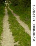 dirt road | Shutterstock . vector #646646443