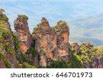 Three High Rocks In The...