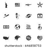 america web icons for user... | Shutterstock .eps vector #646858753