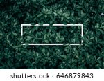 square frame  creative layout... | Shutterstock . vector #646879843