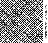seamless vector pattern with... | Shutterstock .eps vector #646882393