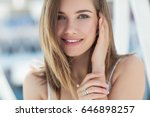 beautiful woman | Shutterstock . vector #646898257