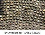 pebbles sidewalk | Shutterstock . vector #646942603