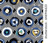 seamless background pattern ...   Shutterstock .eps vector #646946623