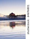 Huntington Beach Pier Blue Hou...