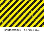 line yellow and black color... | Shutterstock .eps vector #647016163