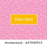 vector simple background with...   Shutterstock .eps vector #647040913