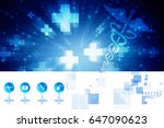 2d illustration health care and ... | Shutterstock . vector #647090623