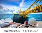 engineering industry concept in ... | Shutterstock . vector #647151067
